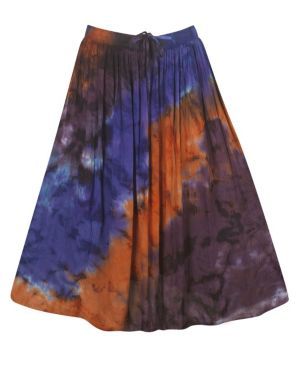 Blue Hippie Skirt