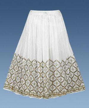 White Sunset Skirt