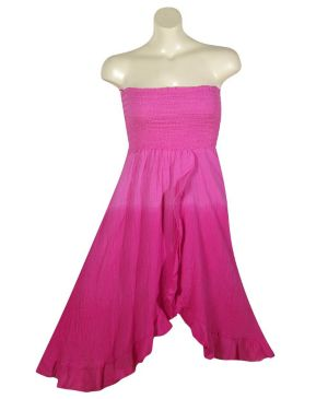 Fuchsia Meadow Dress