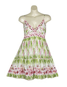 Lime Hampton Dress by Pink Apple