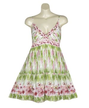 Lime Hampton Dress