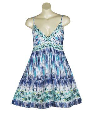 Blue Hampton Dress