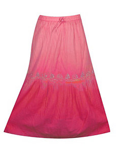 Fuchsia Ombre Skirt by Pink Apple