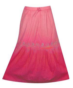 Fuchsia Ombre Skirt