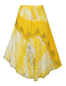 Mellow Yellow Maxi Skirt by Pink Apple