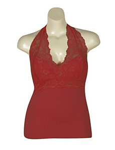 Red Lace Halter by NaNa