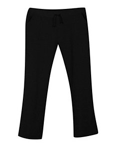 Fleece Black Pants by NaNa