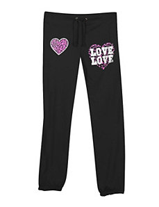 Black Love and Hearts Pant by NaNa