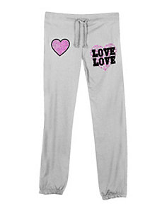Heather Grey Love and Hearts Pant by NaNa