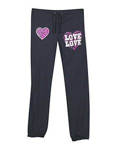 Navy Love and Hearts Pant by NaNa