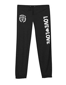 Black Double Love Pant by NaNa