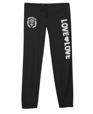Black Double Love Pant