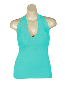 Mint Lace Halter by NaNa