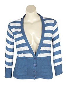 Striped Cardigan by NaNa