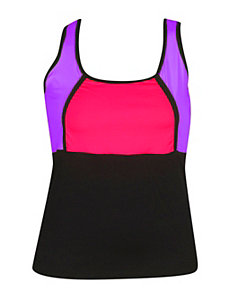 Purple Active Wear Tank by NaNa