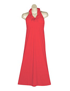 Ruffle Halter Maxi Dress by NaNa