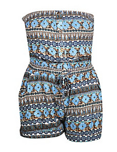 Blue Column Romper by NaNa