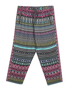 Zipper Print Pant by Fashion Web