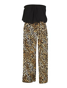 Palazzo Leopard Jumpsuit by Fashion Web