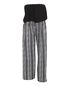 Palazzo Aztec Jumpsuit by Fashion Web