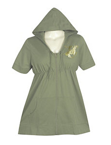 Green Today Tunic by Beverly Hills Polo Club