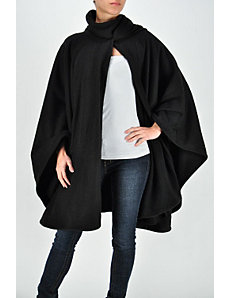 Night Black Cape by Fashion Love