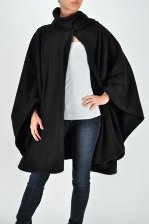 Night Black Cape