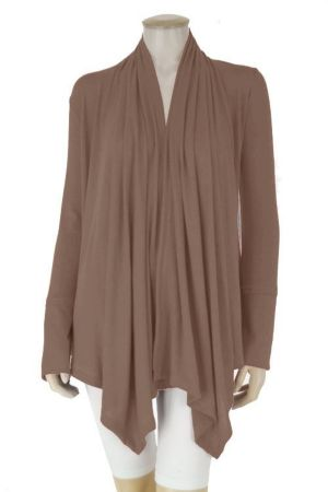 Brown Wrap Top