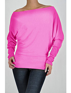 Magenta Flare Top by Fashion Love