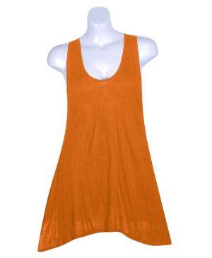Orange Tank Tunic