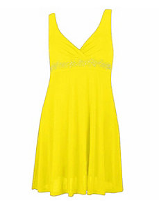 Royal Yellow Dress by Fashion Love