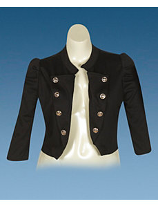 Black Sassy Jacket by Fashion Love