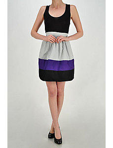 Color Splice Dress by Fashion Love