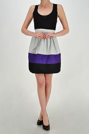 Color Splice Dress