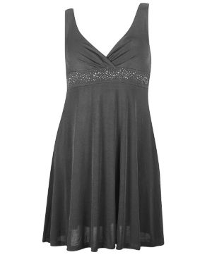 Grey Party Angel Dress
