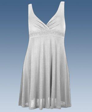 Light Grey Party Angel Dress