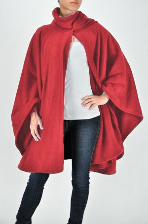 Red Night Cape