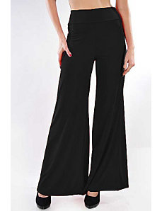 Black Oh So Easy Pants by Fashion Love