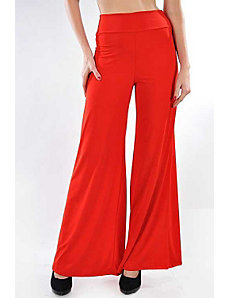Red Oh So Easy Pants by Fashion Love