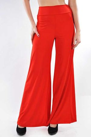 Red Oh So Easy Pants