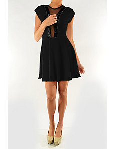Black Capital Dress by Fashion Love