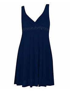 Navy Blue Party Angel Dress by Fashion Love