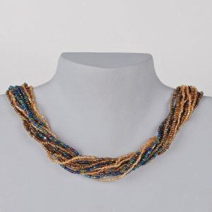 Bronzed Middy Necklace