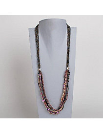 Violet Romance Necklace by Marlene's Jewels