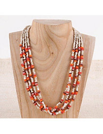 Sherbert Candy Necklace by Marlene's Jewels