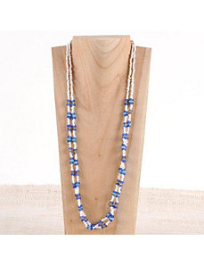 Blue Candy Necklace by Marlene's Jewels