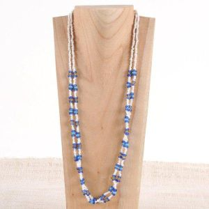 Blue Candy Necklace