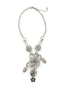 Silver Show Stopping Necklace by Marlene's Jewels