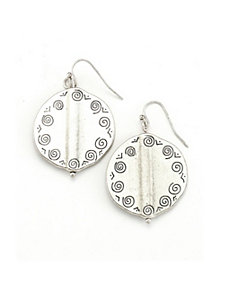 Silver City Earrings by Marlene's Jewels