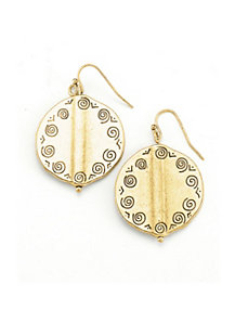 Gold City Earrings by Marlene's Jewels